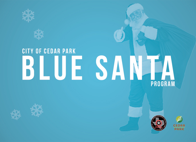 Blue Santa Web Slider