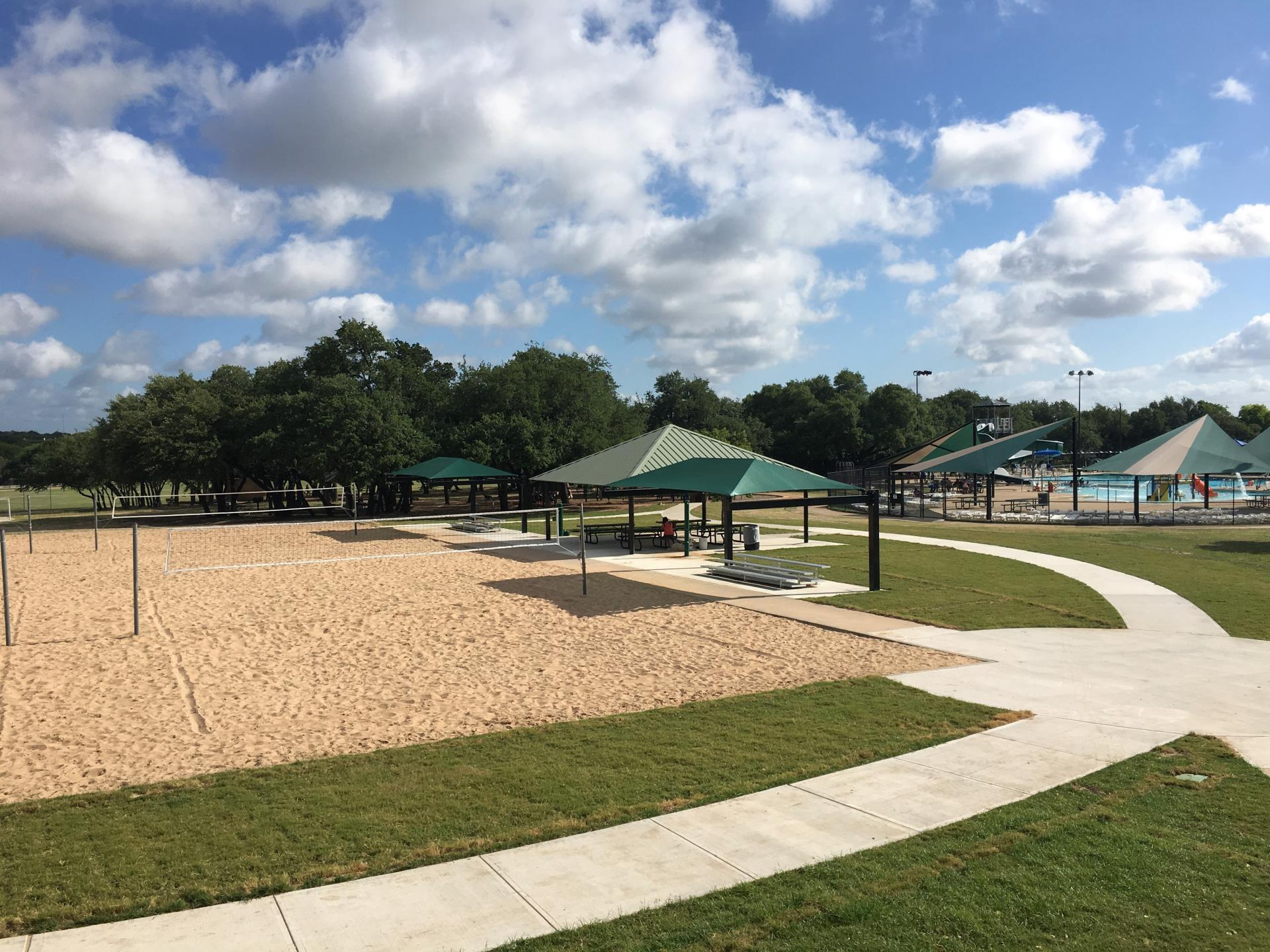 Milburn Park Volleyball Improvements