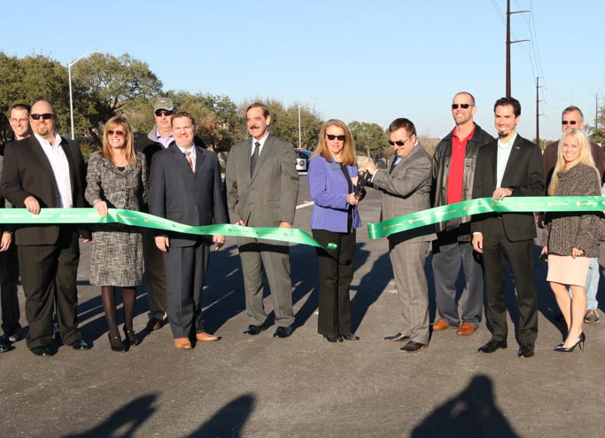 Little Elm Ribbon Cutting-1-2