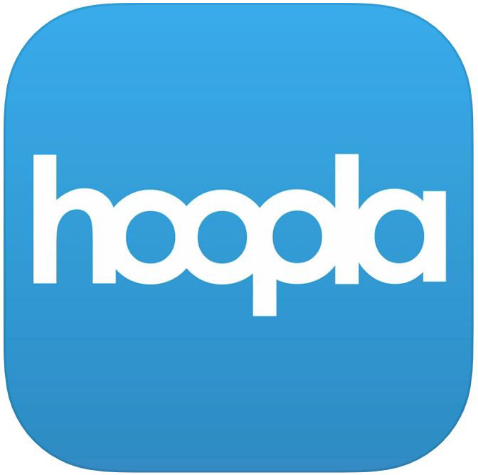 Hoopla logo- Digital Library Content